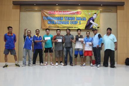 Turnamen Tenis Meja Mulyodadi Cup 2017