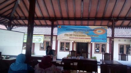 Pelatihan Tim Inti Perencanaan Partisipatif (TIPP) Desa Mulyodadi