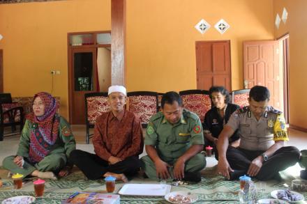 Silaturahmi Sepulang Haji Kasi Pelayanan Desa Mulyodadi