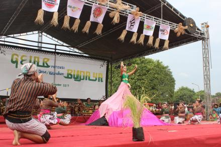 Desa Budaya Mulyodadi mengikuti Gelar Budaya Kabupaten Bantul Tahun 2017