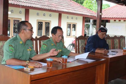 Koordinasi Persiapan Festival Kethoprak Antar Kring Desa Mulyodadi