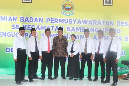 Peresmian BPD Se-Kecamatan Bambanglipuro