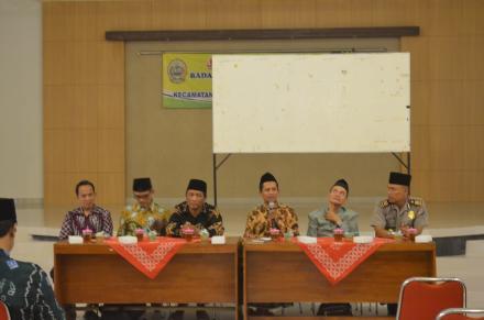 Silaturahmi dan Buka Bersama se Kecamatan Bambanglipuro di Gedung Serbaguna Mulyodadi