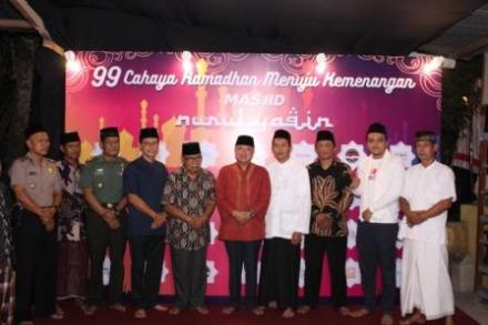 Lurah Desa Mulyodadi sambut Safari Ramadhan Kabupaten Bantul