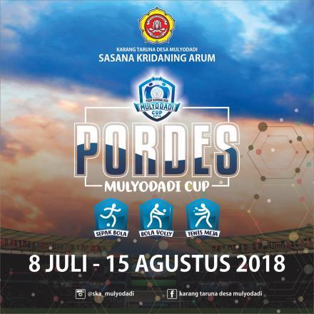 PORDES Mulyodadi Cup 2018