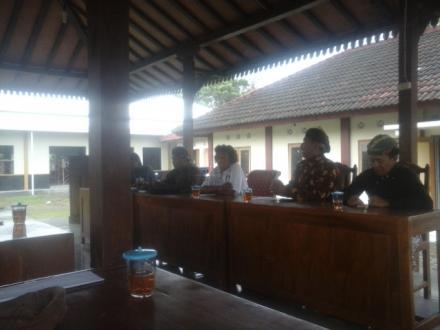 Koordinasi Pamong Desa