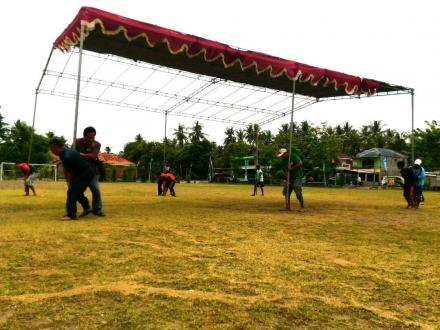 Persiapan tenda 2